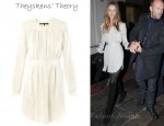 In Rosie Huntington-Whiteley's Closet - Theyskens' Theory Danan Button Through Dress
