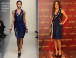 Salma Hayek In Bottega Veneta - 'Puss in Boots' in Mexico Photocall