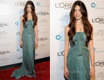 Sarah Margaret Qualley In Alberta Ferretti - L'Oréal Paris Legends Gala