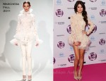 Selena Gomez In Marchesa - 2011 MTV European Music Awards