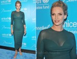 Uma Thurman In Atelier Versace - 8th Annual UNICEF Snowflake Ball