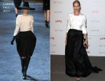 Uma Thurman In Lanvin - LACMA's Art and Film Gala