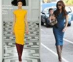 LAX Style: Victoria Beckham In The Victoria Beckham 100 Dress