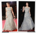 Who Wore Valentino Better? Carolina Crescentini or Tang Wei