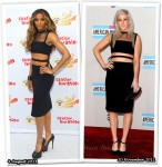 Who Wore Christopher Kane Better? Ciara or Ellie Goulding