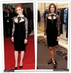 Who Wore Emilio Pucci Better? Jessica Chastain or Alexa Chung