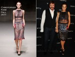 Yasmin le Bon In Christopher Kane - Vertu Constellation Launch