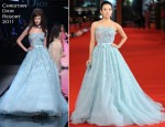 Zhang Ziyi In Christian Dior - 'Love For Life' Rome Film Festival Premiere & Photocall