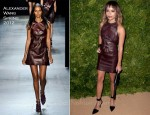Zoe Kravitz In Alexander Wang - 2011 CFDA/Vogue Fashion Fund Awards