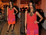 Zoe Saldana In Lanvin - 'Rendez Vous with Alber Elbaz'