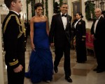 Michelle Obama In Vera Wang - The 34th Kennedy Center Honors