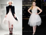 Abigail Breslin In Marchesa - 'New Year's Eve' LA Premiere
