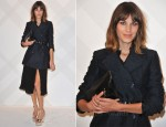 Alexa Chung In Burberry Prorsum - Burberry Celebrates Paris Boutique Opening At British Embassy
