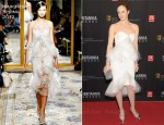 Andrea Riseborough In Marchesa - BAFTA Los Angeles 2011 Britannia Awards