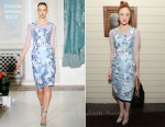 Andrea Riseborough In Erdem - BVLGARI Celebrates the Holidays