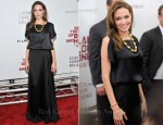 Angelina Jolie In Joseph & Ralph Lauren - 'In The Land of Blood and Honey' New York Premiere