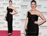 Anne Hathaway in Giambattista Valli - 2011 Kennedy Center Honors Gala Dinner