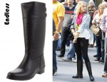 Ashley Benson's Endless Thatcher Knee-High Boot