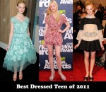 Best Dressed Teen of 2011 - Elle Fanning