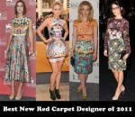Best New Red Carpet Designer of 2011 - Mary Katrantzou