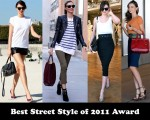 Best Street Style Of 2011 Award - Miranda Kerr
