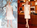 Cate Blanchett In Louis Vuitton - Louis Vuitton Maison Australia Opening