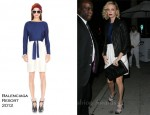 Charlize Theron In Balenciaga - Mr Chow's