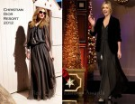 Charlize Theron In Christian Dior - 'The Tonight Show with Jay Leno'