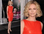 Charlize Theron In Christian Dior - 'Young Adult' New York Premiere