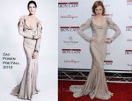 Coco Rocha In Zac Posen - 'The Iron Lady' New York Premiere