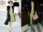 Delfina Delettrez Fendi In Fendi - Swarovski Dinner At Soho Beach House