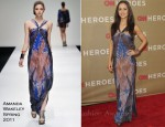 Eliza Dushku In Amanda Wakeley - 2011 CNN Heroes: An All-Star Tribute