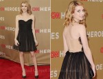 Emma Roberts In Maria Lucia Hohan - 2011 CNN Heroes: All-Star Tribute