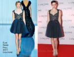 Emma Watson In Elie Saab Couture - Lancôme Dinner