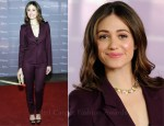 Emmy Rossum In Boss Black  – The Hollywood Reporter's Annual 'Power 100: Women In Entertainment Breakfast