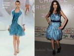 Freida Pinto In Chanel - Chanel Paris-Bombay Pre-Fall 2012 Show