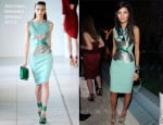 Giovanna Battaglia In Antonio Berardi - Dior Pop-Up Shop Featuring Anselm Reyle For Dior