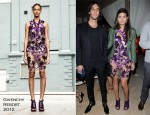Giovanna Battaglia In Givenchy - 'Carter Cleveland, Wendi Murdoch And Dasha Zhukova's Soho Beach House Party