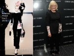 Glenn Close In Armani Privé - 'Albert Nobbs' New York Screening