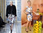 Heidi Klum In Balenciaga - 'Shine' Walgreens Time Square Fragrance Launch