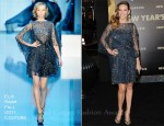 Hilary Swank In Elie Saab Couture - 'New Year's Eve' LA Premiere