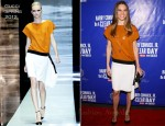 Hilary Swank In Gucci - 'On a Clear Day You Can See Forever' Broadway Opening Night