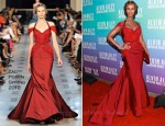 Iman In Zac Posen - 2011 Alvin Ailey American Dance Theater's Opening Night Gala Performance