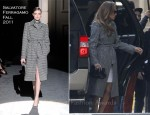 Jennifer Lopez In Salvatore Ferragamo & The Row - American Idol's Hollywood Week Auditions