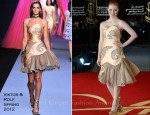 Jessica Chastain In Viktor & Rolf - 2011 Marrakech Film Festival Closing Ceremony