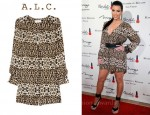 Kim Kardashian's A.L.C. Daisy Dress