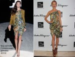 Karolina Kurkova In Salvatore Ferragamo - Salvatore Ferragamo Private Dinner