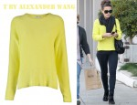 Kate Beckinsale's T by Alexander Wang Crewneck Pullover