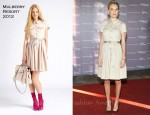 Kate Bosworth In Mulberry - The Hollywood Reporter's Annual 'Power 100: Women In Entertainment Breakfast