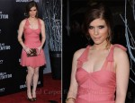 Kate Mara In Christian Dior - 'The Girl With The Dragon Tattoo' New York Premiere